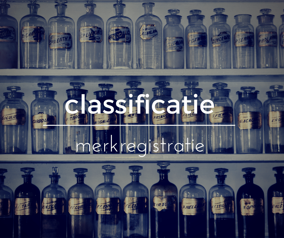 Classificatie merkregistratie