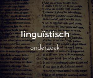 linguïstisch onderzoek