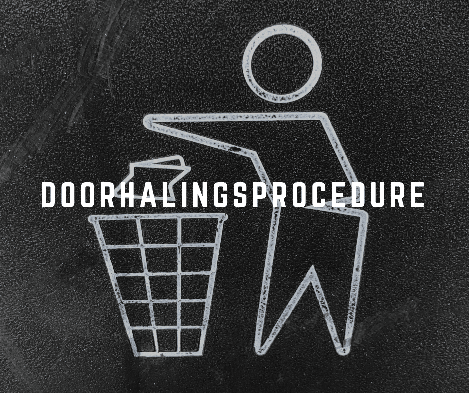 Doorhalingsprocedure
