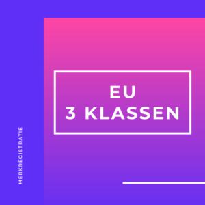 Merk EU 3 klassen